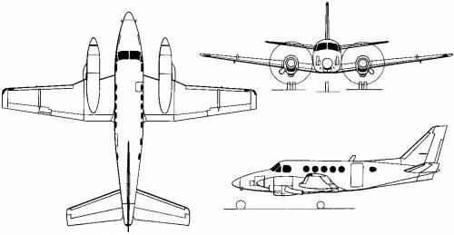 Beechcraft King Air 100 Training